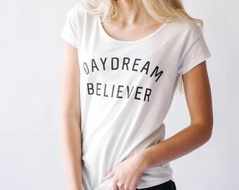 Daydream Believer Women's Tee | white
