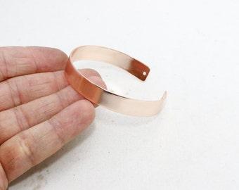 10mm Rose Gold Cuff Bracelet,  Rose Gold Bracelet Bangle , Cuff Bracelet,  CHK15