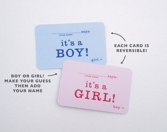 last chance - gender reveal party package - baby shower for 10