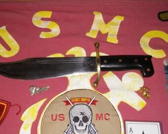Authentic V44 No. 18 Collins & Co. Legitmus WW II USMC Marine Raiders Knife