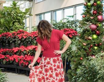 Ellary Reversible midi Skirt