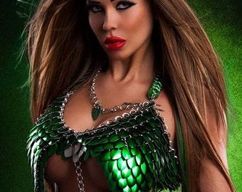 Poison Ivy bra (Green) - Dragons Chain®