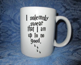 Harry Potter - I Solemnly Swear That I'm Up To No Good Ceramic Mug
