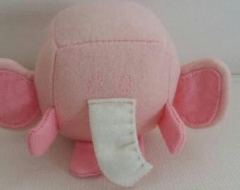 Elephant block animal