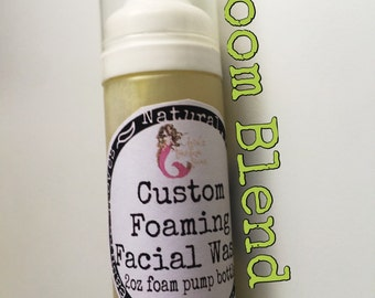 Boom Foaming Facial Wash ! Formulated for acne or break out prone skin types! Listing is for one concentrated wash.