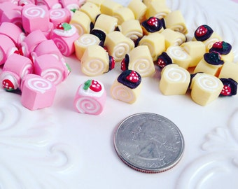 Mix 6pc Cabochon Sweets #003