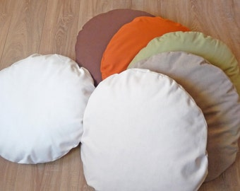 Dog bed cover Dog bed cushion pillow Cotton Hidden zipper Replacement for dog bed or just average Small dog bed pet bed