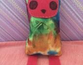 Colorful Dylin Rainbow Tie Dye Stuffed Plushie