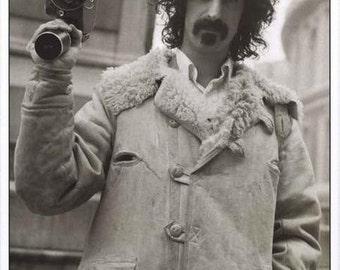 Frank Zappa Royal Albert Hall 1971 B/W  Rare Poster