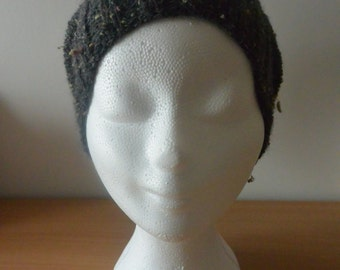 15% off with code WSALE15 - Bonnet slouch in wool knitted tweed hand