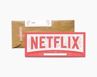 Free Printable Netflix Gift Card
