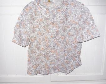 Blouse CLAIRE MATHIEU size 2 (38-40) - 1980s