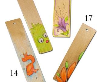 wood Book marker