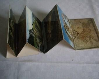 Mini booklet postcards, Grand/Vosges, France 1970