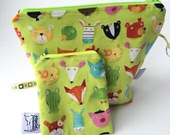 Reusable Snack Bag Set, Lunch bag, Reusable sandwich bag, ECO friendly, Back to school, Storage, Zipper pouch, Zipper bags, Child's toy bag