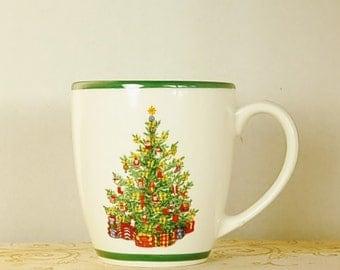 Christopher Radko Mug Holiday Celebrations