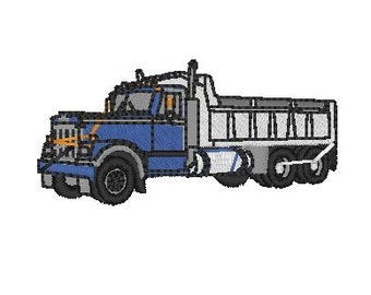 Dump Truck Embroidery file