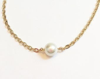 SALE  Long pearl chain