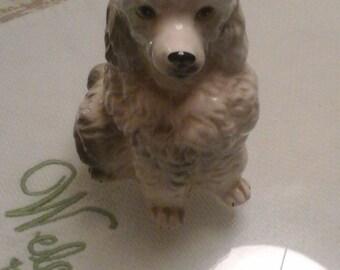 Inarco porcelain poodle