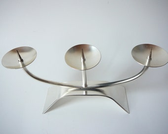 WMF Candle Holder silver coated German Wurttembergische Metallwarenfabrik AG