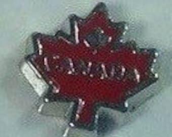 Canada maple leaf Floating charm
