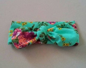 Floral Baby Knot Headband
