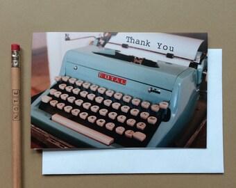 Thank you (Typewriter)