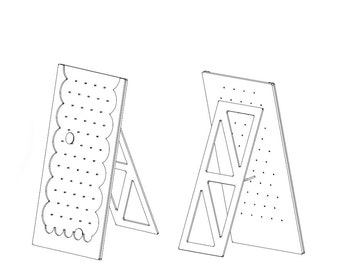 Plinko Game Board DXF Files & Plans