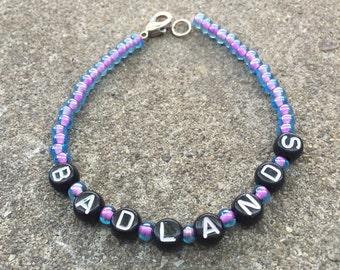 Halsey BADLANDS beaded bracelet