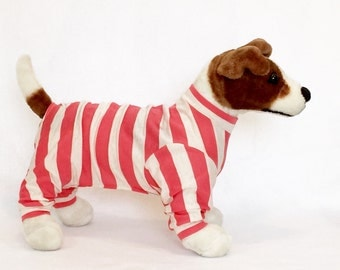 Angus's Dog Pajamas - Handmade Dog Clothes, Dog Clothing, Dog Apparel