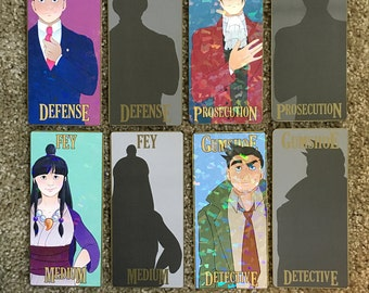 Phoenix Wright: Ace Attorney Prism/Spot Gold Bookmarks