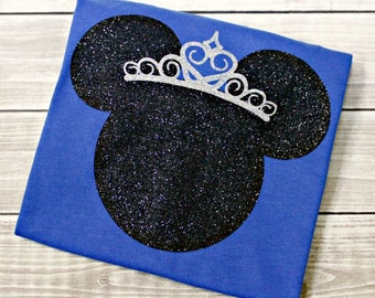 Princess Mouse Shirt, Mickey, Minnie, Mouse, Mickey Mouse, Minnie Mouse, Princess Shirt, Disney Vacation,Disney World, Princess Marathon