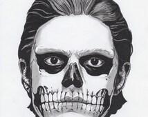 American Horror Story - A4 Tate Langdon Print