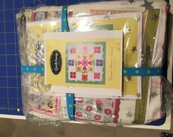 Quilt Soup Corner Flower Shoppe Quilt Kit