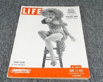 Life Magazine June 11 1951
