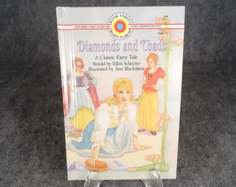 Diamonds and Toads (Bank Street Ready-To- Read) by Ellen Schecter  1994