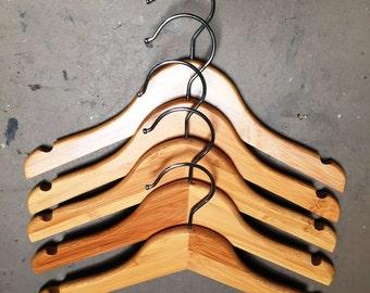 Bamboo Baby Hangers Set of 5
