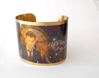 Doctor Who Cuff Tenth Doctor Cuff Bracelet