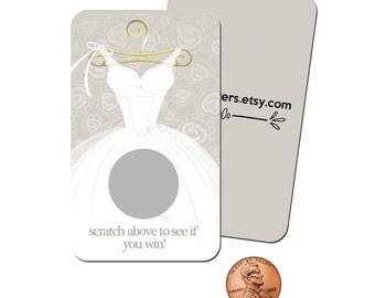 Scratch Off Bridal Shower, Bridal Shower Games, Bridal Shower Scratch Off Game, wedding shower games, scratch off cards