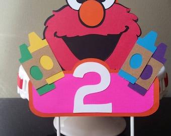 Elmo Cake Topper Elmo Cake Decor Elmo Cake Smash Elmo