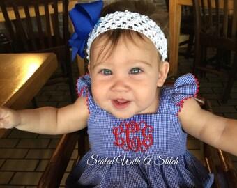 Baby Ruffle Bubble, Blue