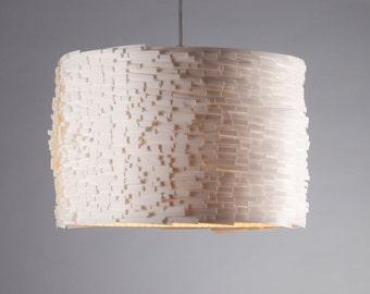Hanging lamp Luccia XL white