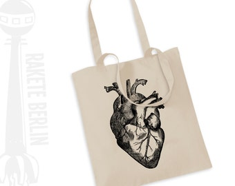 Tote Bag   ''anatomical heart'