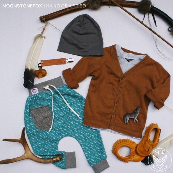 Items similar to Warrior Harem Pants baby harem pants
