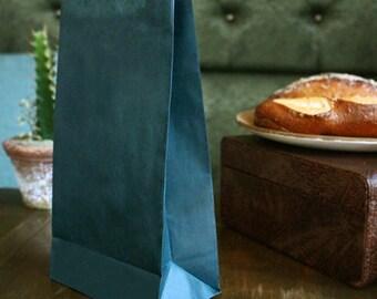 50 x Paper bags / Goodies Bags/ Green Bags / Favor Bags / gift bag / bridesmaid bag / favor bag / wedding favor bag / cookie bag
