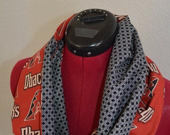 Arizona Diamondback's Scarf-Diamondback's Scarf-MLB Scarf-Baseball Scarf-Team Scarf-Arizona Scarf-Diamondbacks Scarf-Diamondbacks Clothes