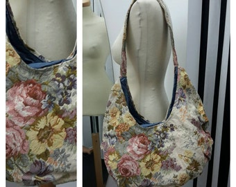Large Crescent bag with handle