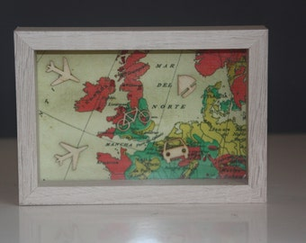 Travel wall art, Geographical