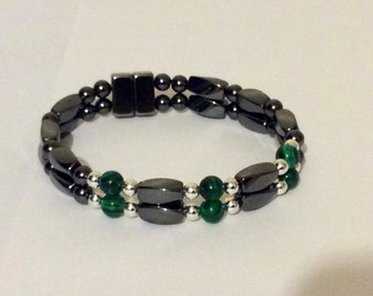 Triple Power Magnetic Bracelet for Carpal Tunnel and Arthritis Pain Relief