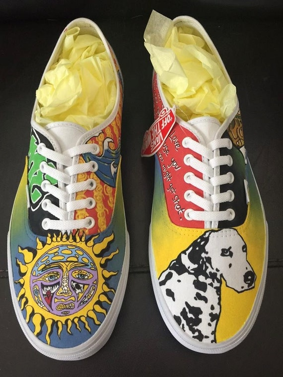 sublime custom hand painted shoes vans toms by heavenlyhayley
